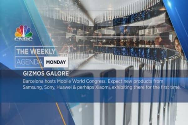 Weekly agenda: Mobile World Congress, Brits, G20