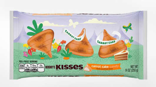 Hershey's Carrot Cake candy