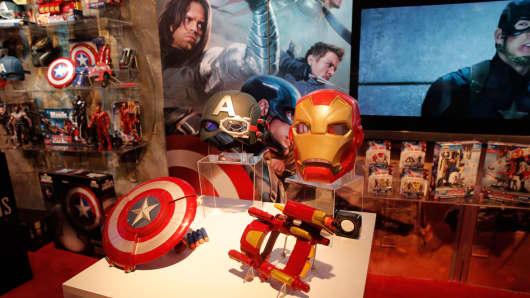 "Marvel ""Civil War"" toys at Toy Fair"