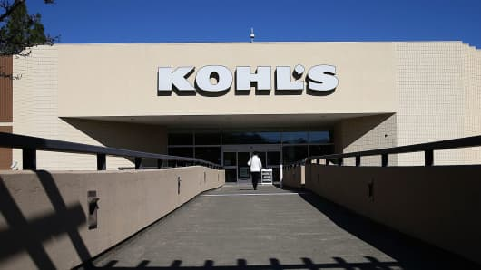 A Kohl's store in San Rafael, Calif.