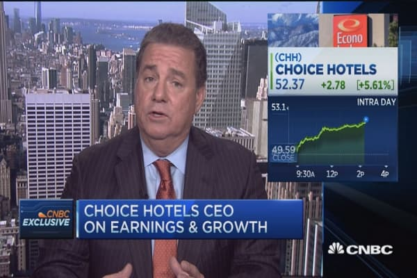 Choice Hotels Ceo Expecting A Busy Summer