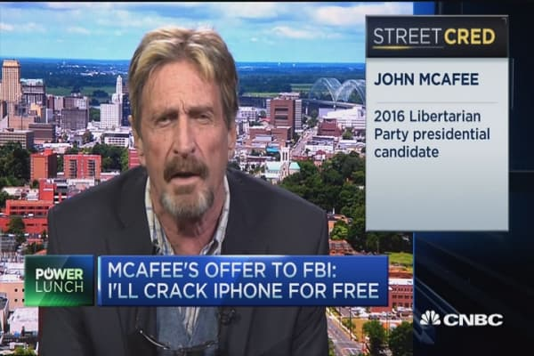 John McAfee: I can crack the iPhone