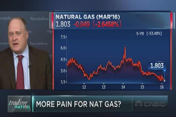 Nat gas keeps sliding