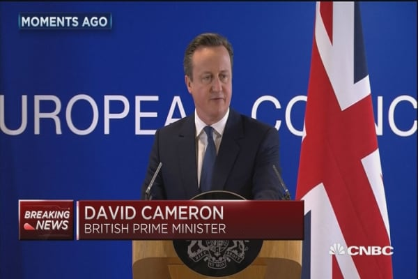 David Cameron: Tough new restrictions for EU migrants