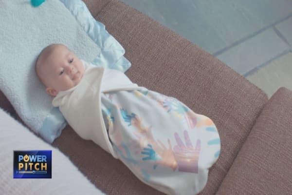 Start-up designs high-tech baby blankets using NASA technology