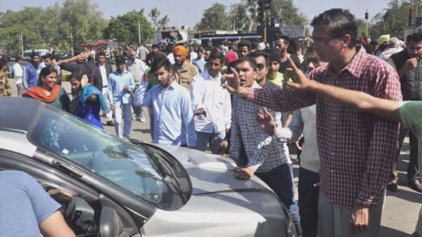 India sends troops to squash protests
