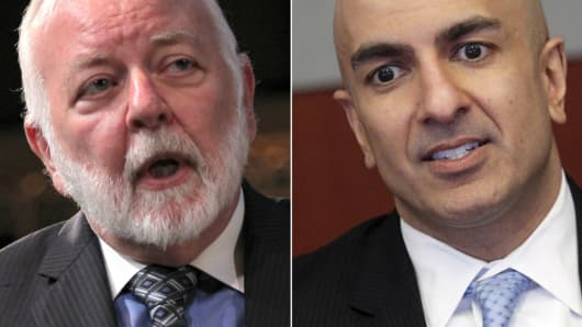 Dick Bove and Neel Kashkari