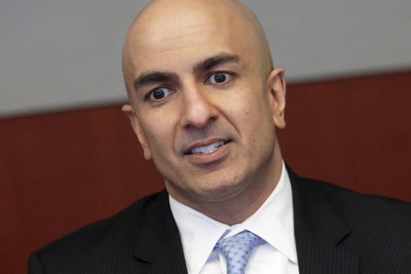 Neel Kashkari, Minneapolis Federal Reserve