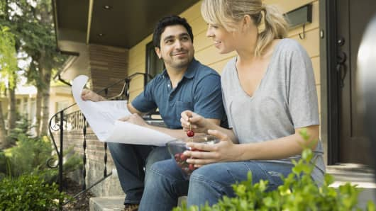 Interest on a HELOC is typically tax-deductible only if you use the money to finance home improvements — one reason a home equity line is most commonly used for this purpose.