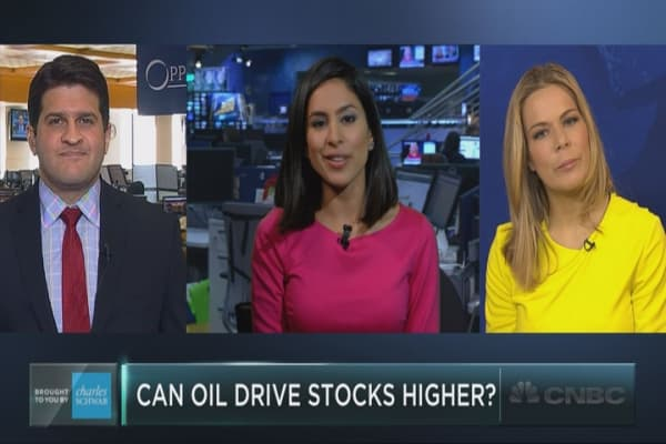 Will oil drive stocks higher?