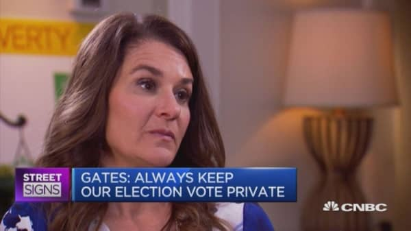 Melinda Gates on the US presidency's future