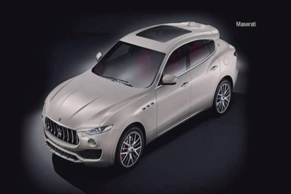 Maserati debuts the Levante to enter luxury SUV market