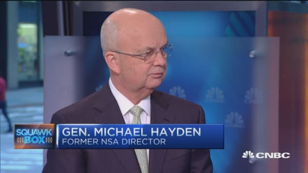 Gen. Hayden: No black and white between privacy and security