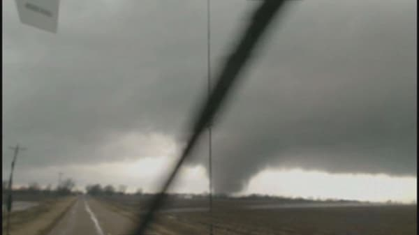 Tornadoes expected as storm approaches the Gulf Coast
