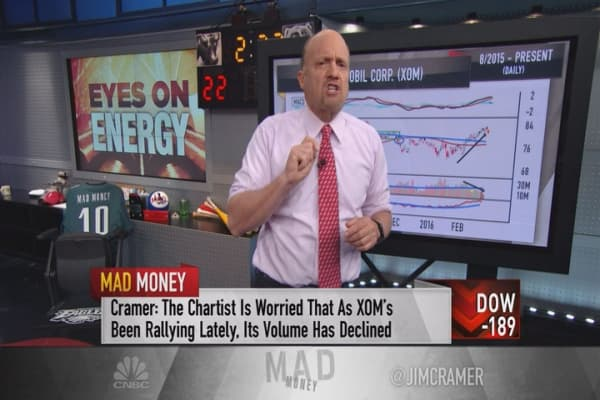 Cramer: Bullish charts for these big daddy oils