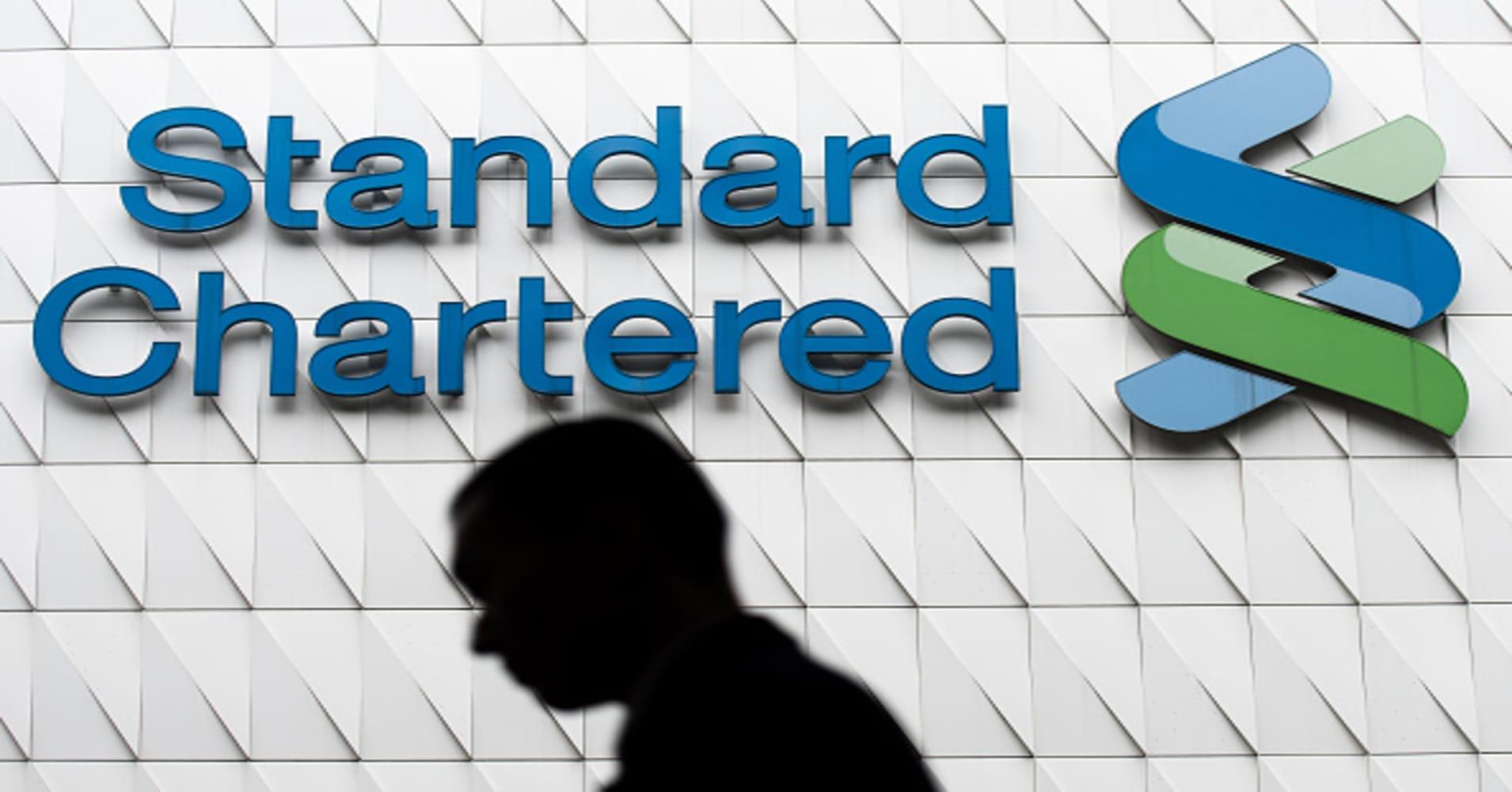 Standard Chartered first quarter pretax profit climbs 20%, beats forecasts