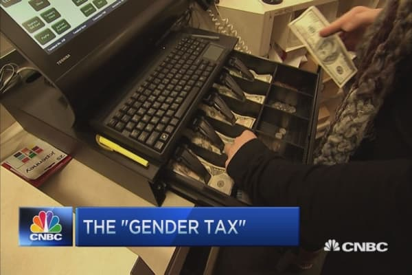 Sticking women shoppers with the 'pink tax'