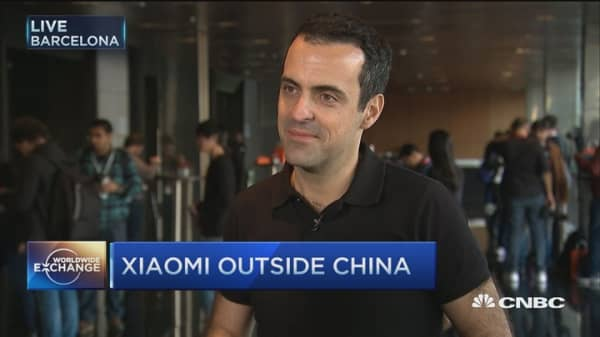 Xiaomi launches flagship smartphone