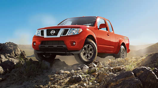 The 2016 Nissan Frontier S King Cab Pickup.