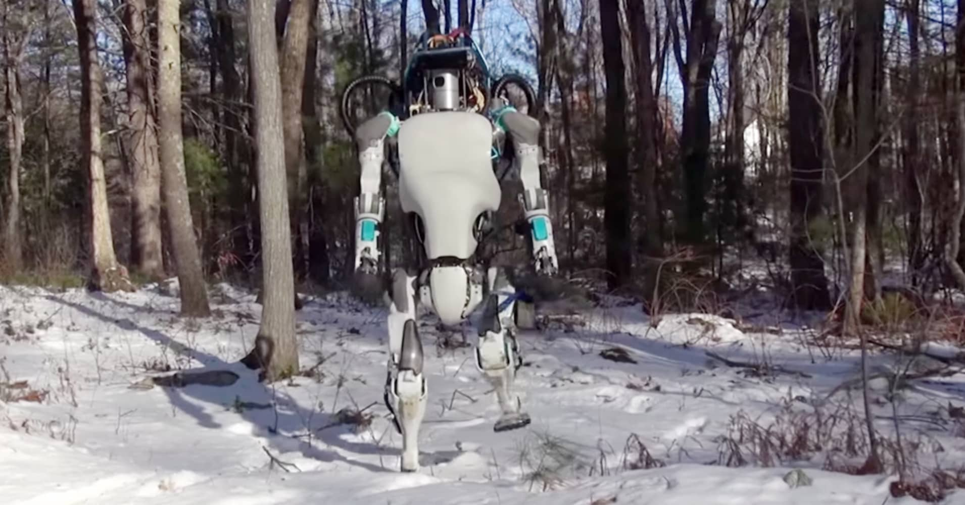 Google Robot Doesnt Punch You If You Knock It Down Yet