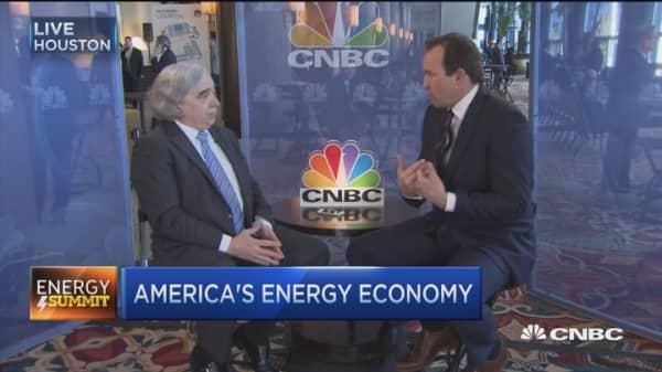 Real nat gas revolution: Dr. Moniz