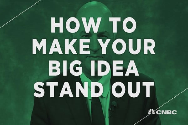 How to make your big idea stand out