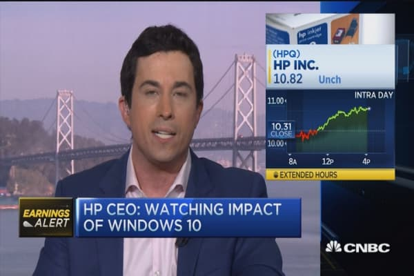 HP in-line bottom, slight beat on top