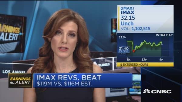 Imax earnings miss estimates