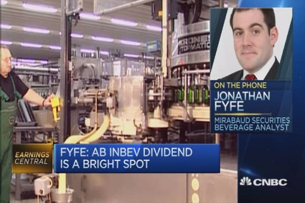 AB InBev's dividend is a bright spot: Analyst