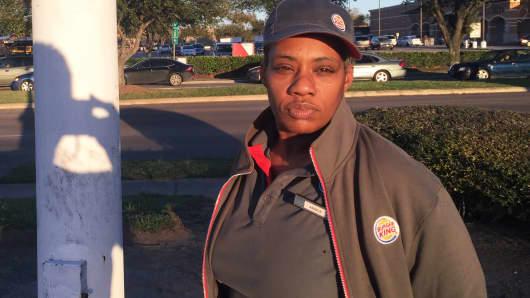 Janice Talton, Burger King worker