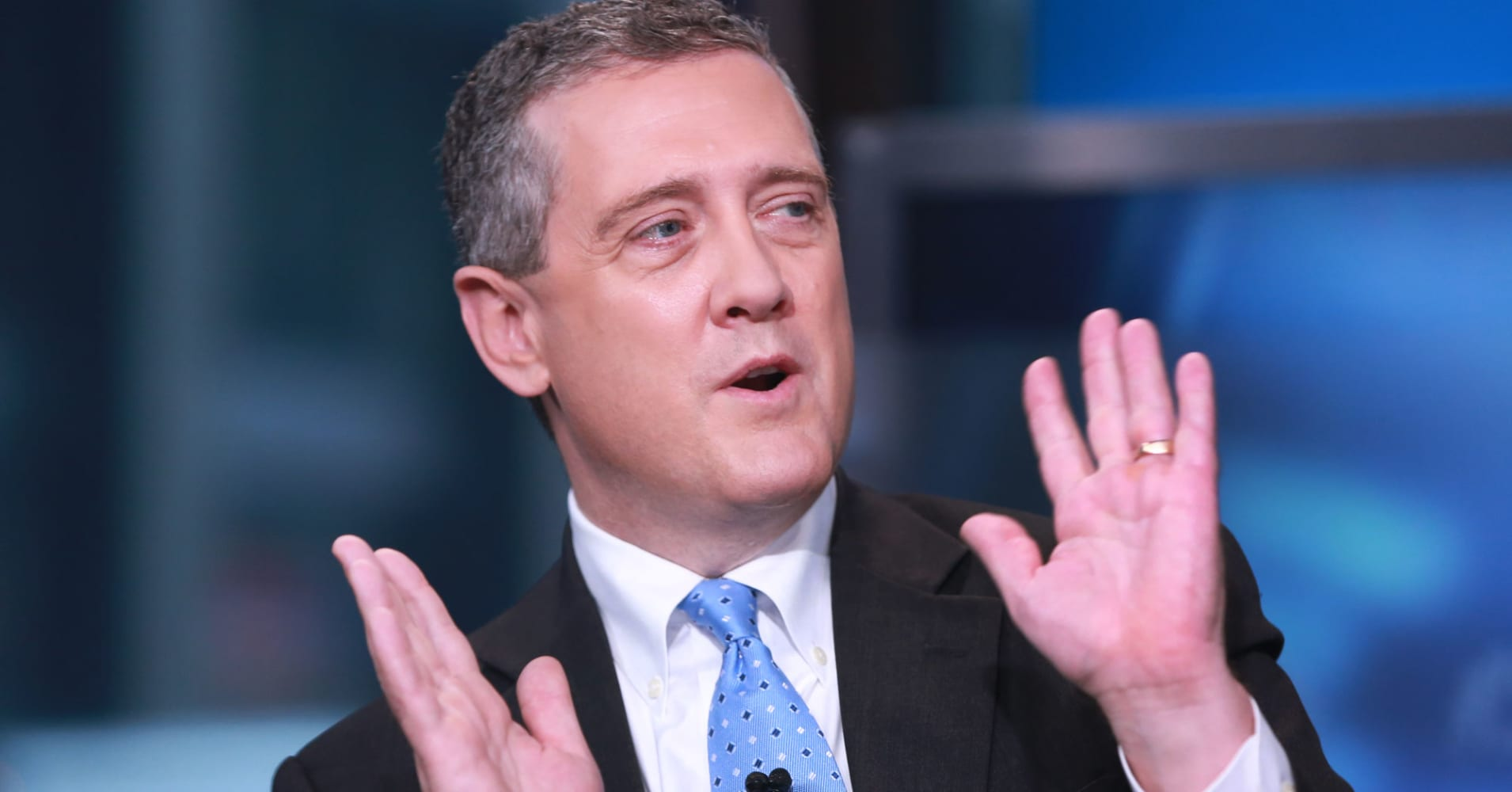 Fed must 'tread carefully' given market signals on outlook: Bullard
