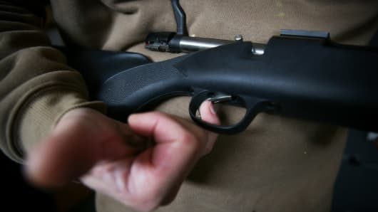 The Remington 700 trigger mechanism
