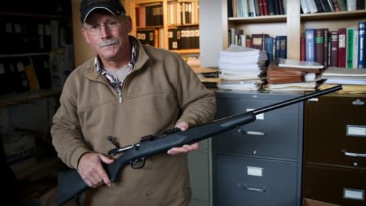 "Rich Barber has spent the last 15 years researching nearly every Remington 700 ""firing incident"" case and complaint and is now a sought-after expert on the guns."