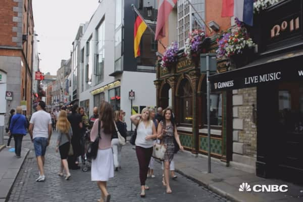 Ireland: Then VS Now