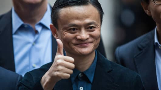 Alibaba beats Q1 estimates, almost doubles profits; shares up 3.7%