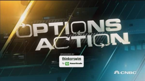 Options Action: Bottom fishing in big oil