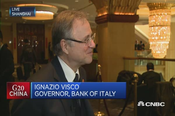 We will use all the tools we have: ECB's Visco