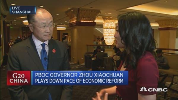 Capital is leaving developing countries: Jim Yong Kim