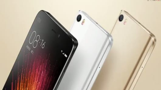 Xiaomi's Mi5 smartphones