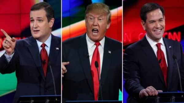 GOP unleash fireworks at final debate before Super Tuesday