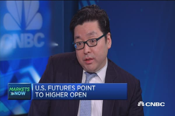 Tom Lee: Tough to be in bullish camp