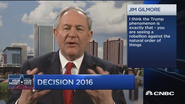 GOP debate looks like food fight on Jerry Springer: Jim Gilmore