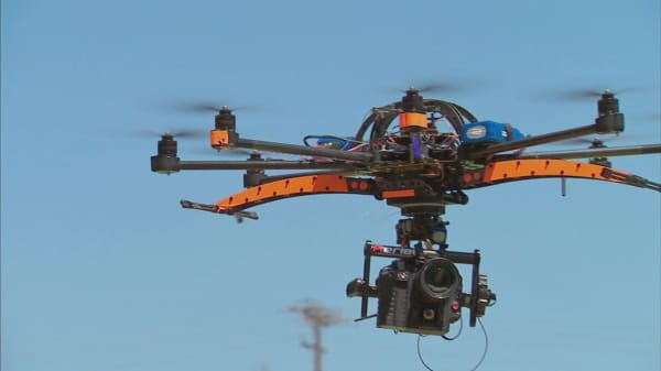 Tech giants work with FAA  to ease drone restrictions
