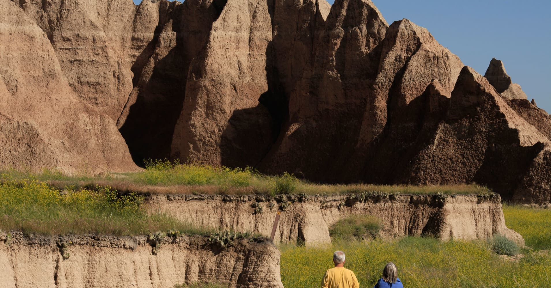 South Dakota badlands retirement