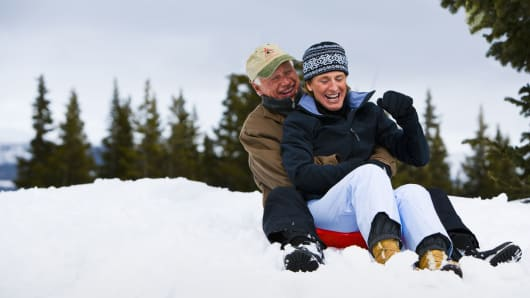 Colorado retirement sledding