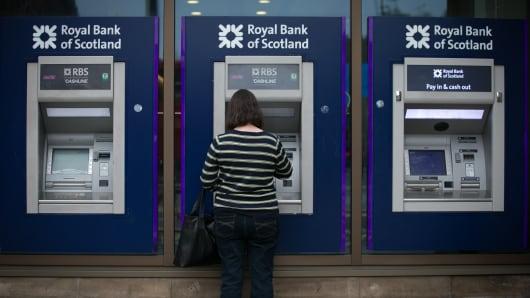 Royal Bank of Scotland ATM's
