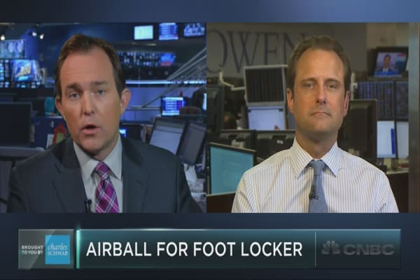Will Foot Locker's fall hit Nike shares?