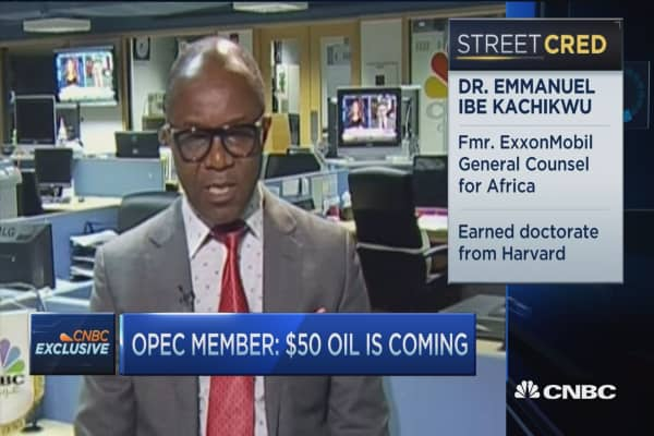 OPEC member: There will be a freeze & $50 oil is coming