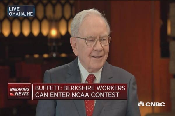 Buffett's 'ultimate' $1M bracket