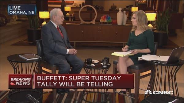 Trump's popularity surprises me: Warren Buffett